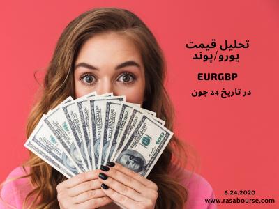 تحلیل قیمت یورو/پوند در تاریخ ۲۴ جون(۴ تیر)